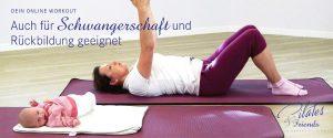 Online Portal Pilates and Friends auch in der Schwangerschaft