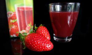 strawberry pulver drinks, diät test